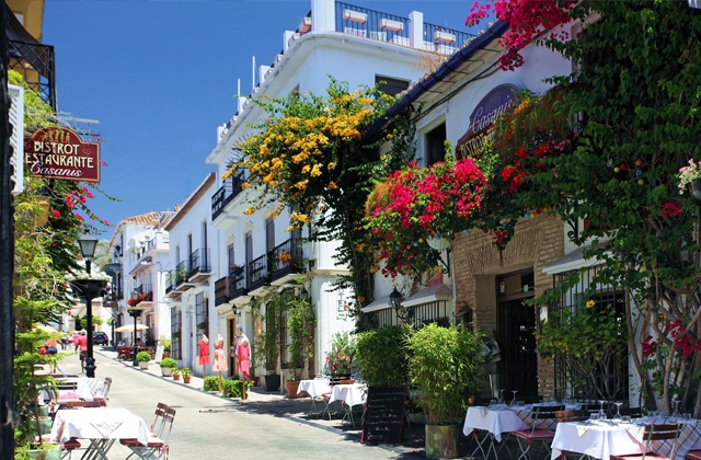 Where to stay in marbella old town