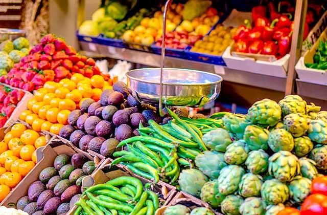 Marchés de Malaga - Mercado de Portada Alta