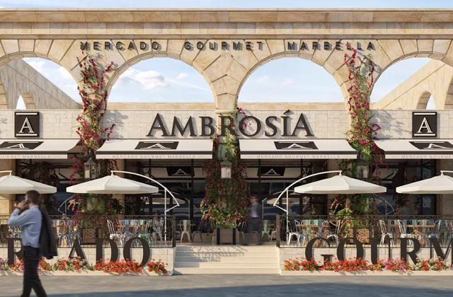 Marbella shopping - Ambrosia Mercado Gourmet