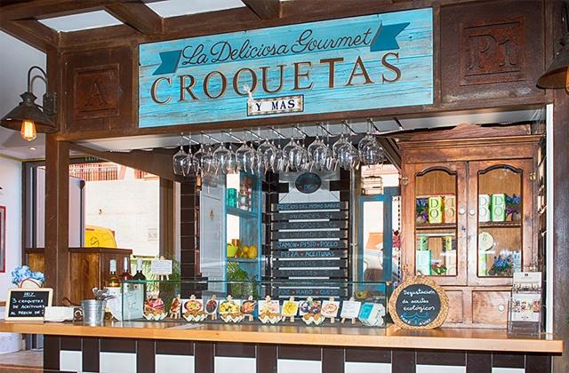 Ambrosia Market, the gourmet essence of Puerto Banus: La Deliciosa Gourmet. Croquetas y más