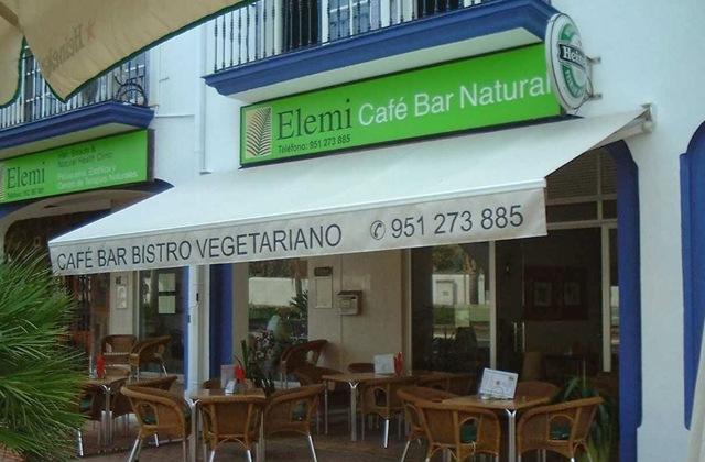 Eat healthy and enjoy ten of the best vegetarian restaurants in the Costa del Sol: Elemi Vegetarian Restaurant, Estepona