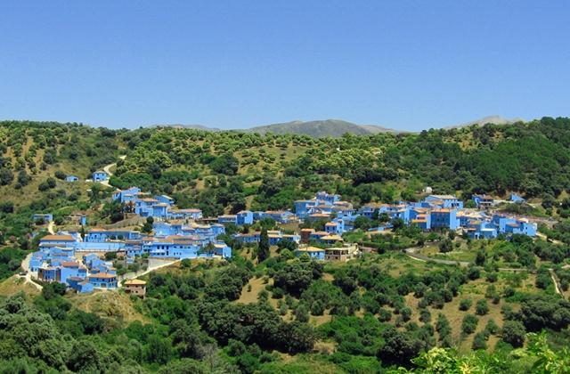 Malaga Dörfer - Júzcar