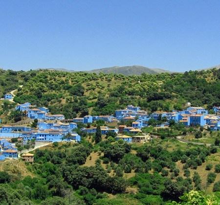 Júzcar, el pueblo Pitufo