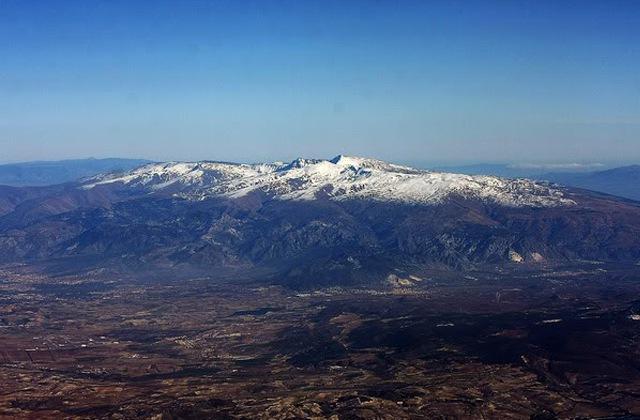 excursiones a Sierra Nevada - Sierra Nevada desde el aire