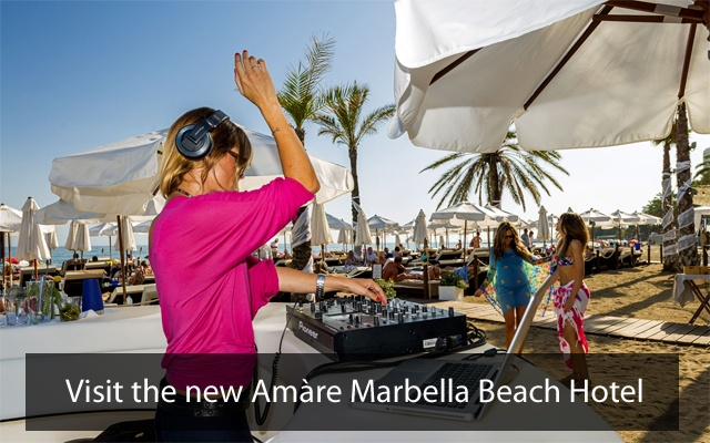 Amare Marbella Beach Hotel - Marbella Nightlife, nightclubs in Marbella