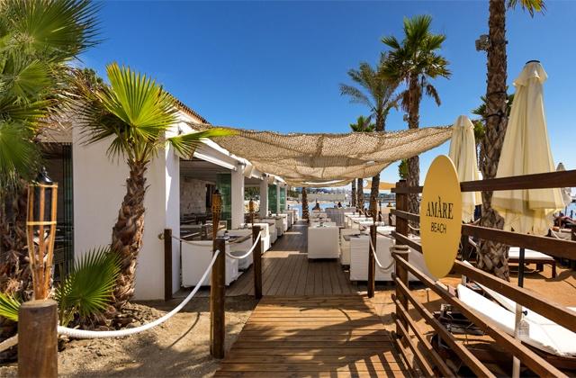 Marbella beach clubs - Amàre Beach