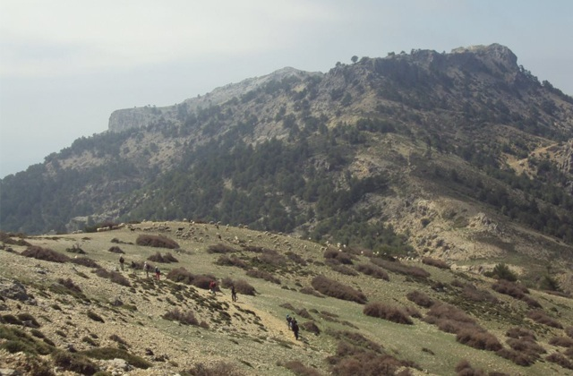 Hiking route through Sierras de Tejeda, Almijara and Alhama: Cerro del Buitre Fotografía del Club de Peñón del Toro