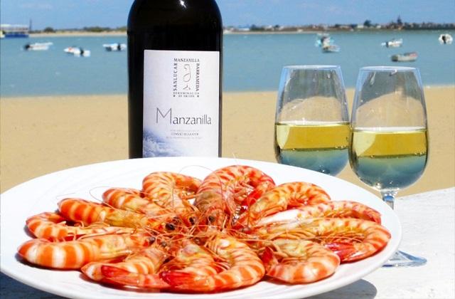 La manzanilla, ideal para tomar con productos del mar
