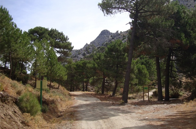 Hiking route through Sierras de Tejeda, Almijara and Alhama: Sendero Raspón de los Moriscos.