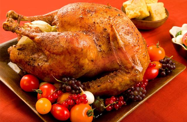 platos navideños andaluces - Pavo relleno
