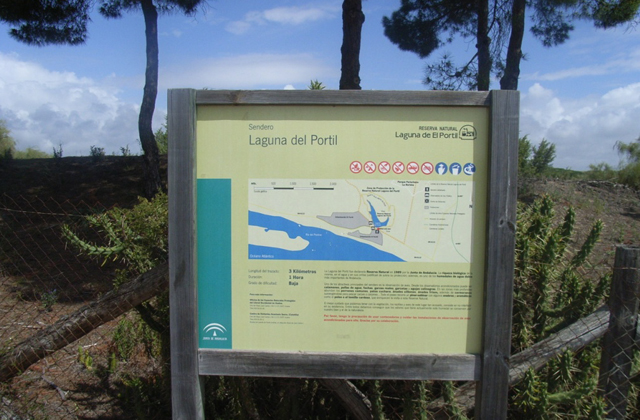 20 things to see and do to have a dream holiday in El Rompido: Ruta Laguna del Portil