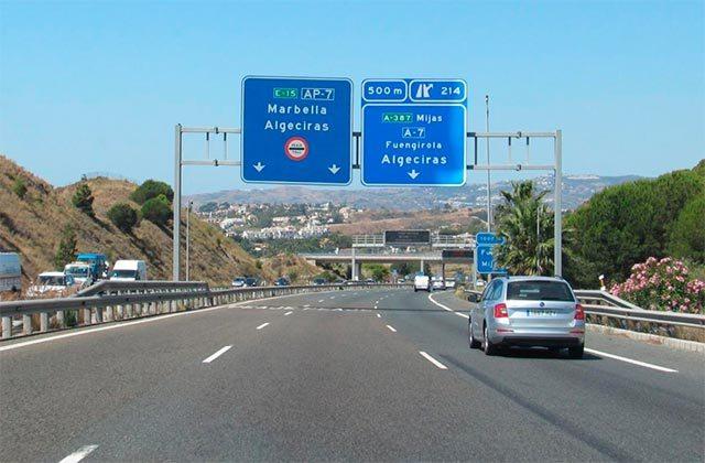 5 façons de se rendre à Marbella - Autovia a Marbella