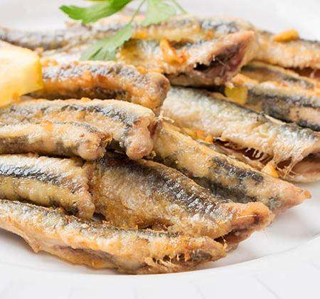 Boquerones (anchovies) fritos
