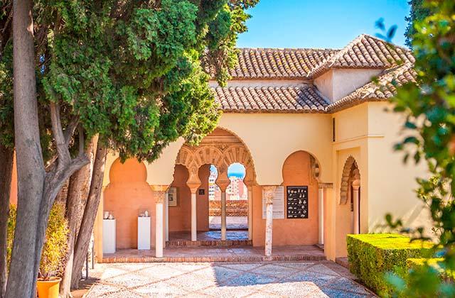 Interior Alcazaba de Málaga