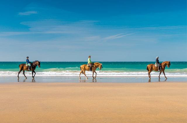 Family holidays in El Rompido - horse riding