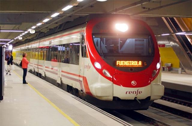 tren Málaga - Fuengirola