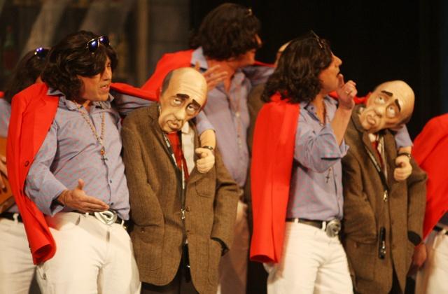 El carnaval de Cádiz - Concurso de agrupaciones