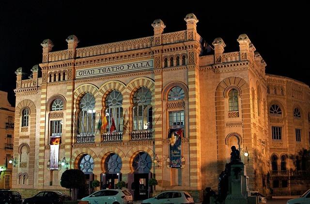 El carnaval de Cádiz - teatro Falla