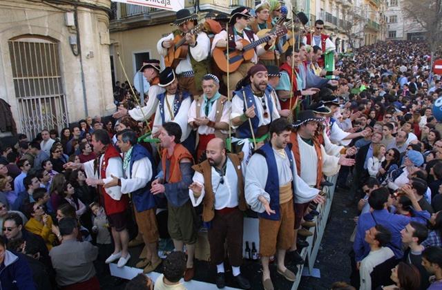 El carnaval de Cádiz - Carnaval en la calle