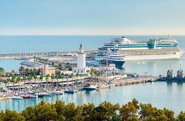 Muelle Uno Málaga vista