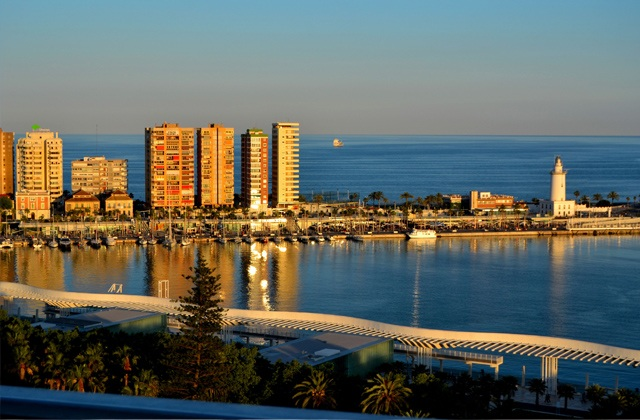 Gran Senda de Málaga - Muelle Uno