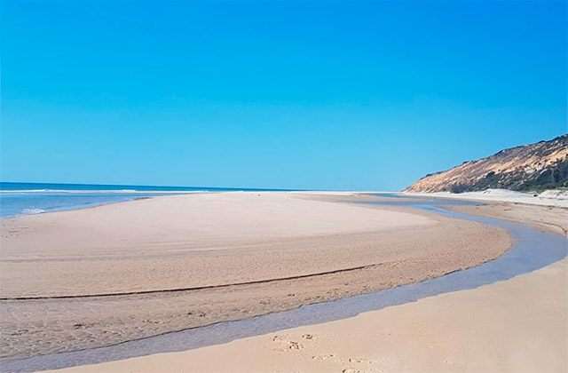 Playas nudistas Huelva, Costa de la Luz - playa de Castilla
