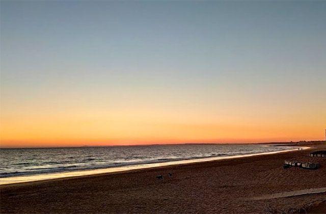 Nudist beaches Costa de la Luz - Playa Mata Negra Huelva