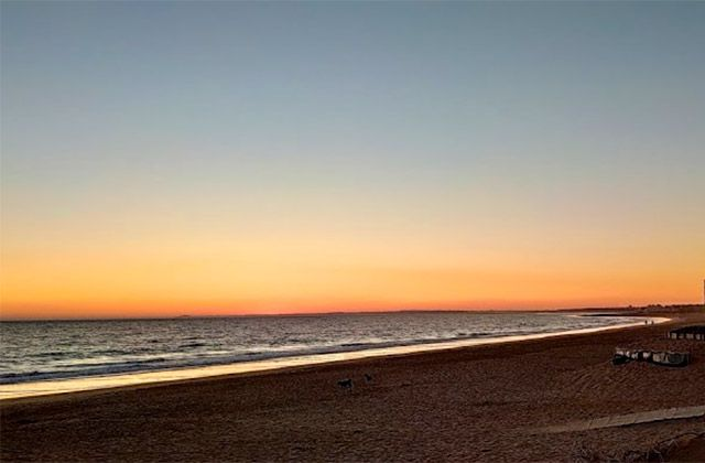 Playas nudistas Huelva Costa de la Luz - Playa Mata Negra