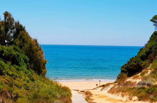 Nudist beaches Costa de la Luz - Playa de Rompeculos Huelva