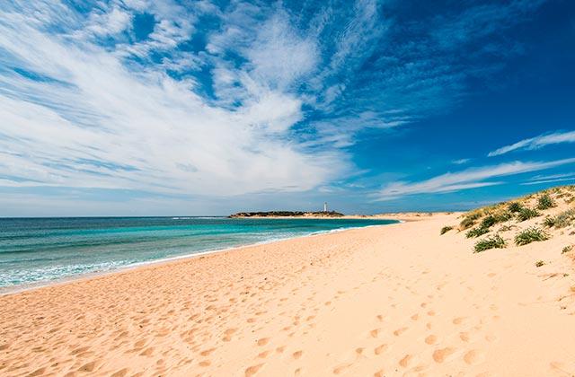 Plages nudiste Cadix - Playa Zahara de los Atunes