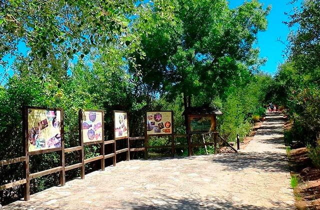 Vacaciones con niños - Jardín Botánico El Castillejo