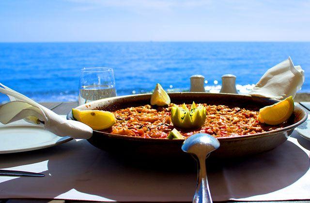 Donde Comer paellas en Málaga - El Beach Club Restaurante Grill