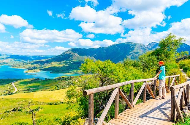 rutas de senderismo en la Sierra de Grazalema