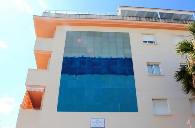 Route der Wandbilder - Azul y Mar, emociones líquidas