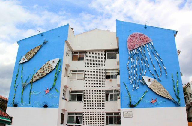 Route of Artistic Murals - Azul y Plata