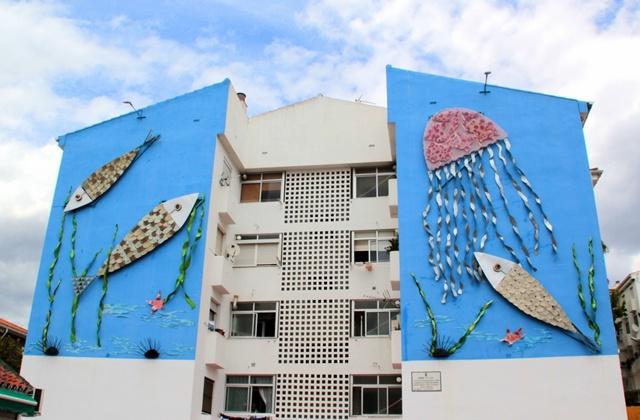 Ruta de los Murales - Azul y Plata