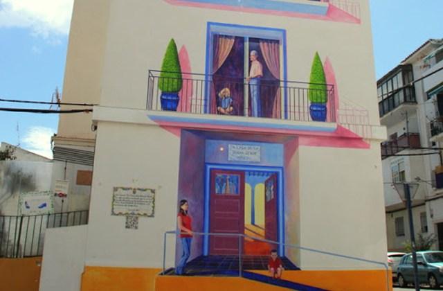 Route der Wandbilder - La Casa de la Buena Gente