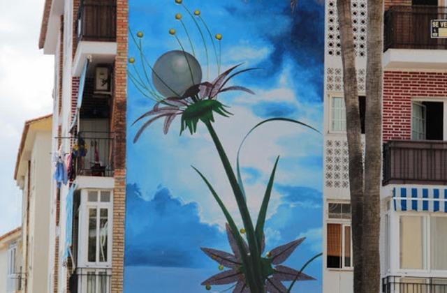 Route der Wandbilder - Flor de Futuro