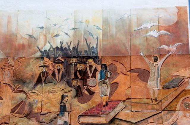 Route der Wandbilder - Fundación Antonia Guerrero