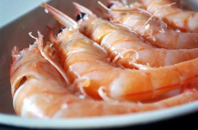 Things to do in Huelva, white prawns
