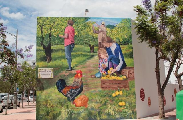 Route der Wandbilder - La Huerta de Irene