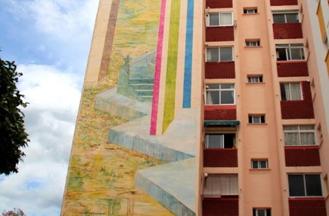 Route peintures murales - Route peintures murales - La Venus