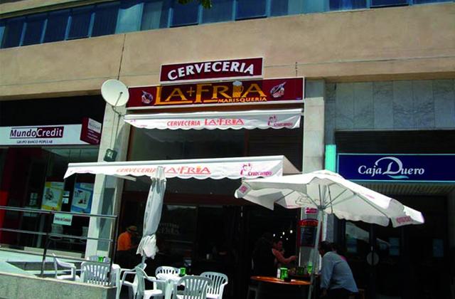 Tapas Marbella - Cervecería La + Fría