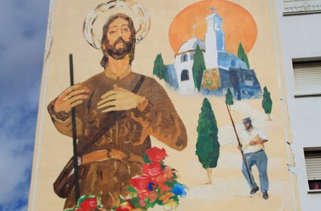 Route peintures murales - San Isidro Labrador