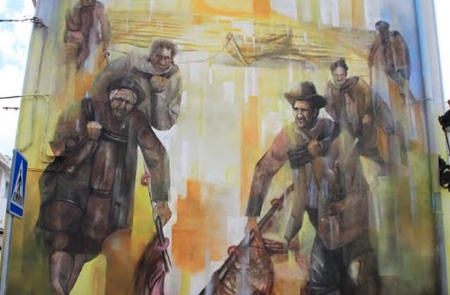 Route of Artistic Murals - Sin memoria no hay historia