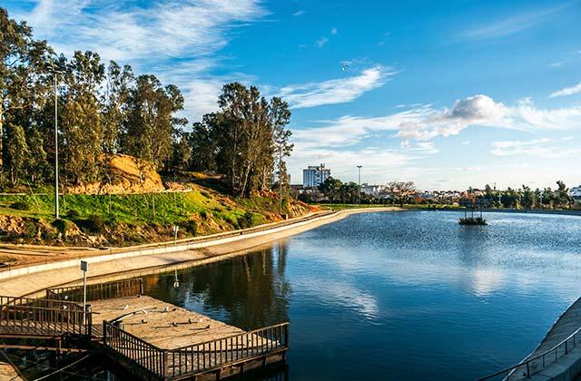 Huelva, parque Moret