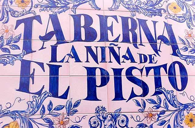 Restaurants dans la vieille ville de Marbella - La Niña del Pisto