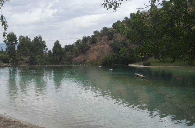 Piscinas naturales de Andalucia - La Playita de Arroyomolinos