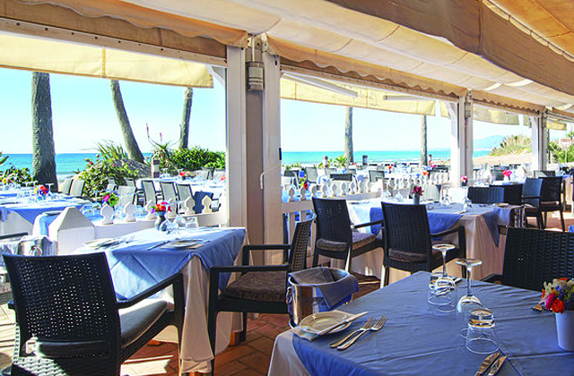 Strandbars und Restaurants in Marbella - The Beach House