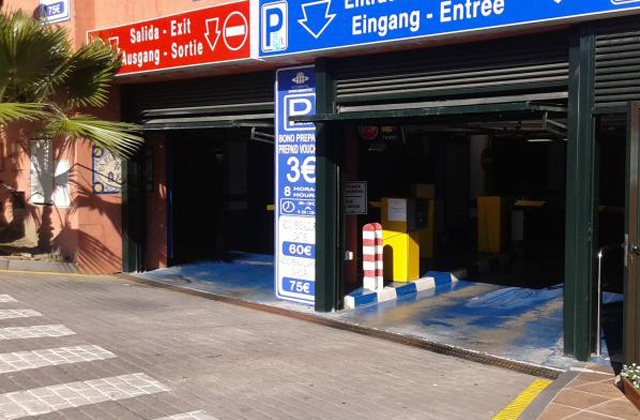 Parking in Marbella - Parking Púbico El Calvario